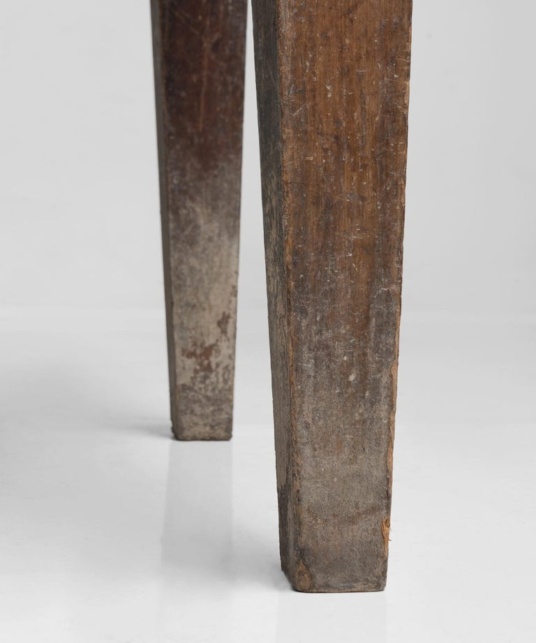 Iron Primitive Side Board, France, 19th Century For Sale