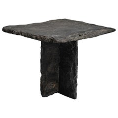 Primitive Slate Table, France, circa 1920