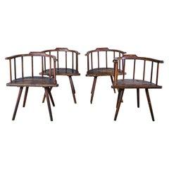 Primitive Stickleback Chairs