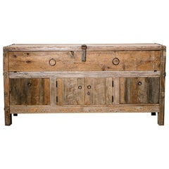 Primitive Style Credenza or Sideboard