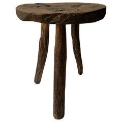 Primitive Styled Stool from Mexico