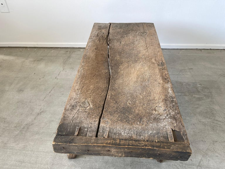 Mid-20th Century Primitive Table For Sale