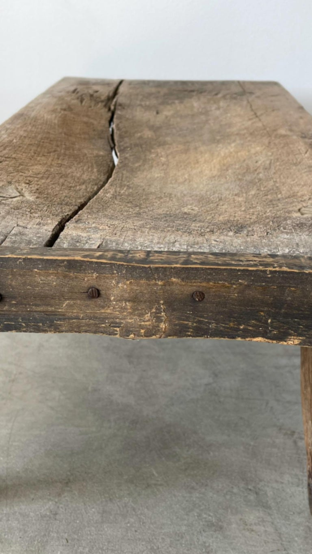 Oak Primitive Table For Sale