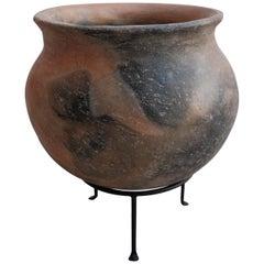 Primitive Terracotta Pot from Oaxaca, Mexico