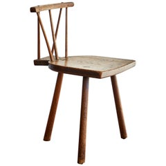 Primitive Tripod Chair