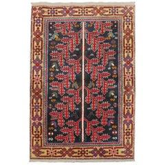 Primitive Vintage Persian Scatter Rug