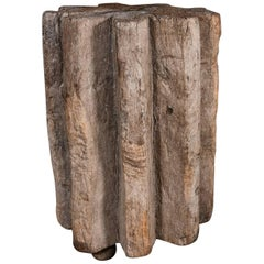 Primitive Wood Pedestal