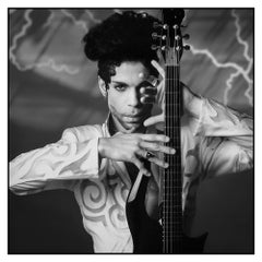 Prince, 1993, Lynn Goldsmith, Archival Pigment Black and White Photograph