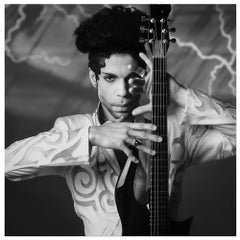 Prince, 1993 – Lynn Goldsmith, Archival Pigment Black & White Photograph