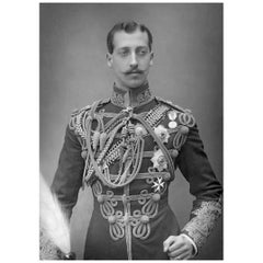 Prince Albert Victor Strand of Hair