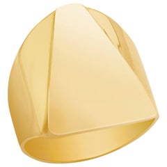 Prince's Gold Pyramid Ring