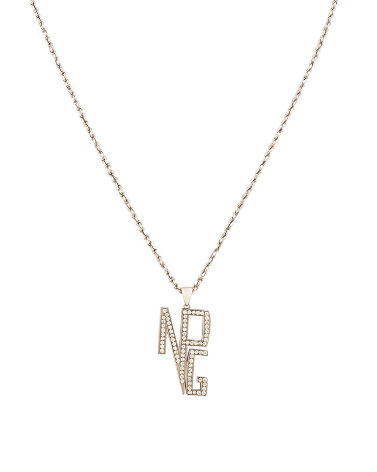 Modern Prince's New Power Generation Diamond Necklace For Sale