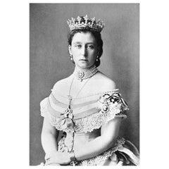 Princess Alice Authentic Strand of Hair, 19th Century
