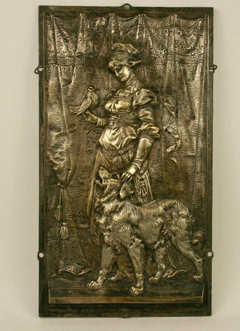 Architectural Element  Princess and Her Dog For Sale 2