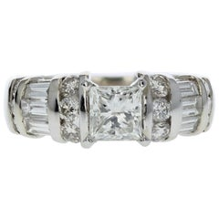 Princess Cut Diamond Engagement Ring 'GIA Certified'