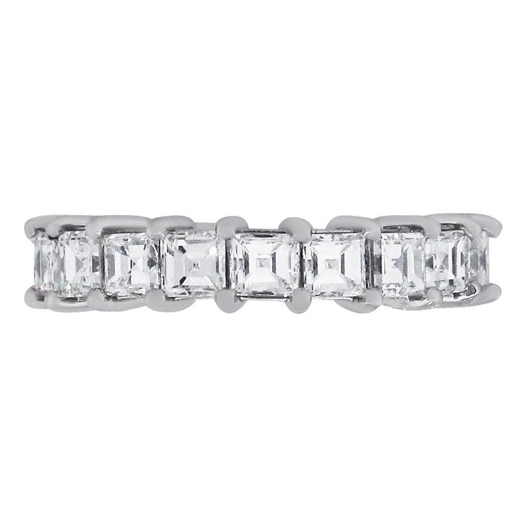 Princess Cut Diamond Eternity Band For Sale