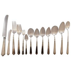 Princess Patricia by Durgin Gorham Sterling Silver Flatware Set Service 168 Pcs