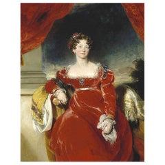 Princess Sophia Authentic Strand of Hair, 18th Century