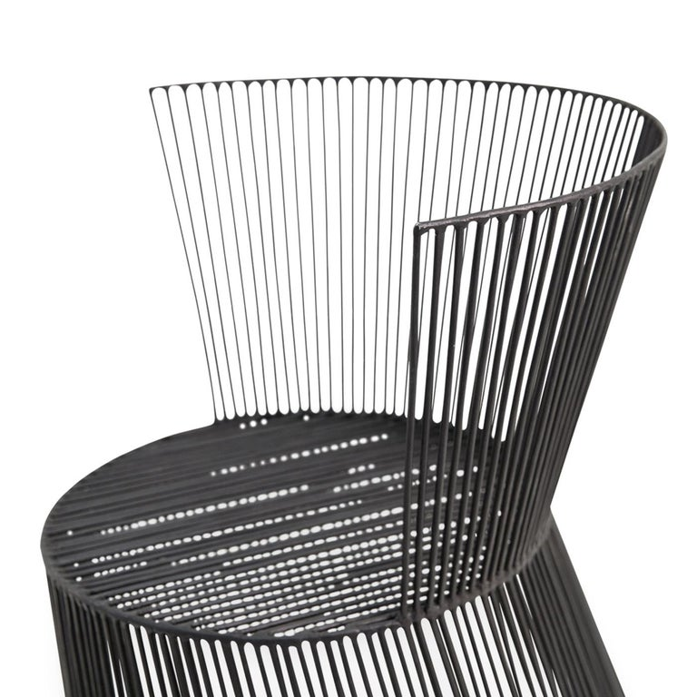 Italian Principessina Iron Chair For Sale