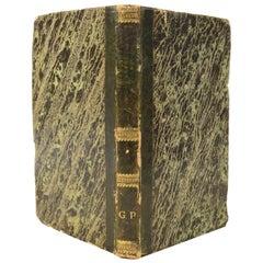 Principles of Nautical Astronomy Antique  Book by M. De Rossel Naples, 1819