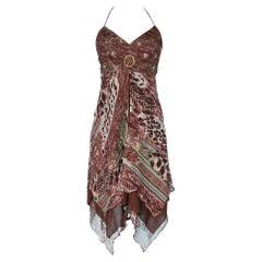 Printed chiffon dress Sue Wong