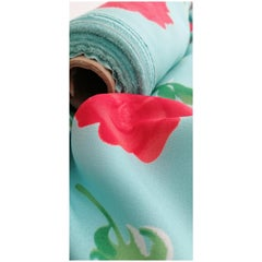 Printed Designer Exclusive Pure Silk Double Crepe Georgette by the yard