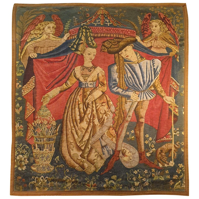 Printed Tapestry of the 19th Century For Sale