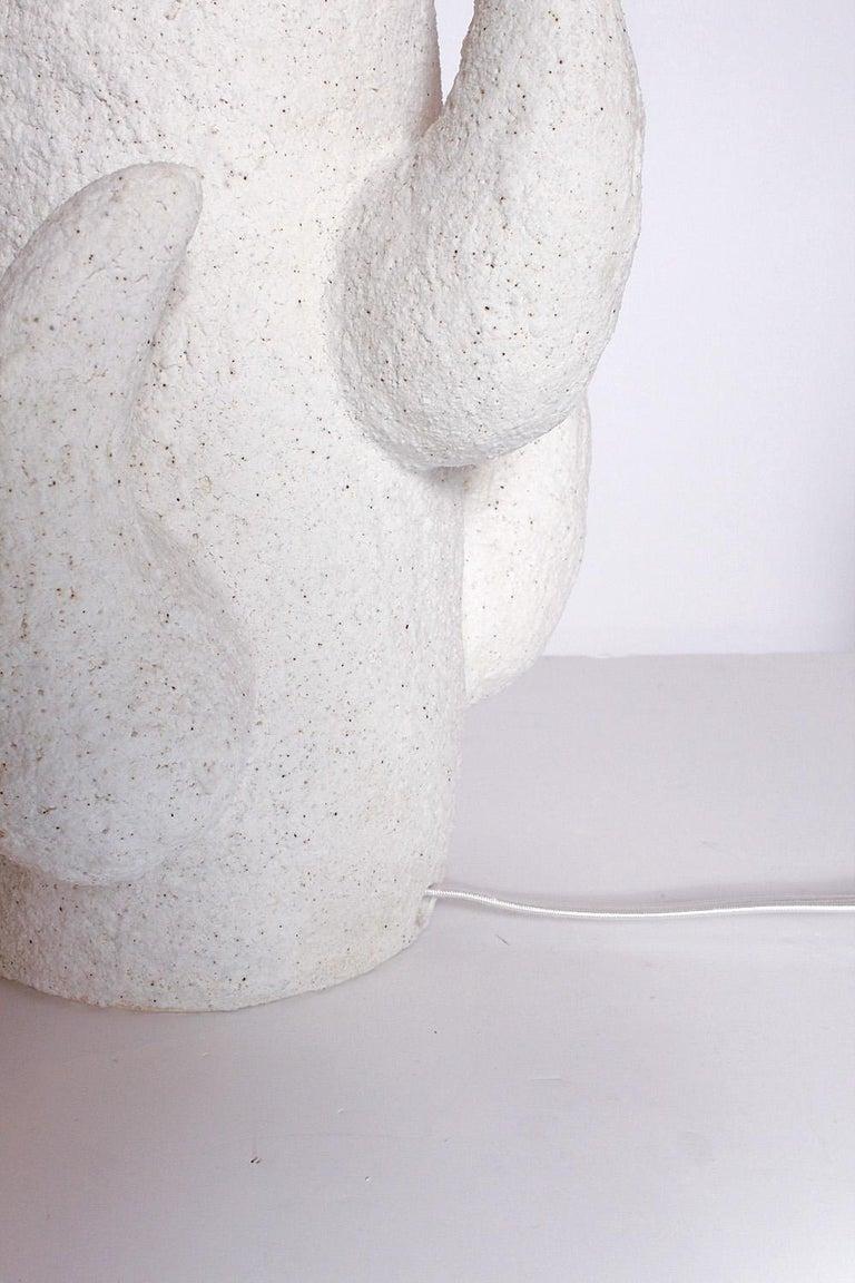 Priscilla Hollingsworth Ceramic Lamps Exclusively for Stripe Vintage Modern For Sale 1