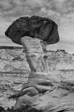 Mushroom Hoodoo, Yermo Canyon