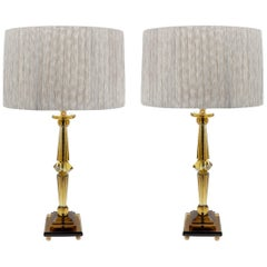 Attilio Amato for Laudarte Srl Prisma Big Table Lamp, Pair Available