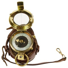 Prismatic Bearing Brass Compass