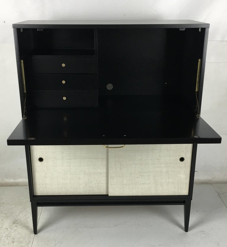 American Pristine Paul McCobb Planner Group Secretaire For Sale