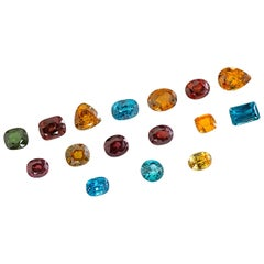 Privately Curated Zircon Collection, Unset Loose Gemstones,  346.31 Carat Total