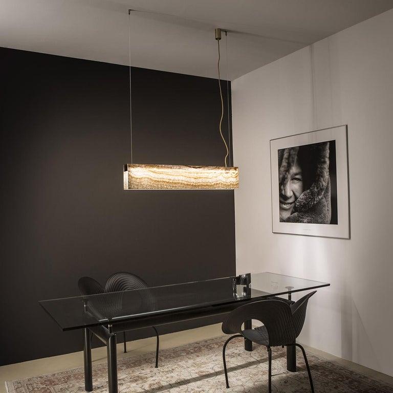 Italian Privilege Suspension Lamp For Sale