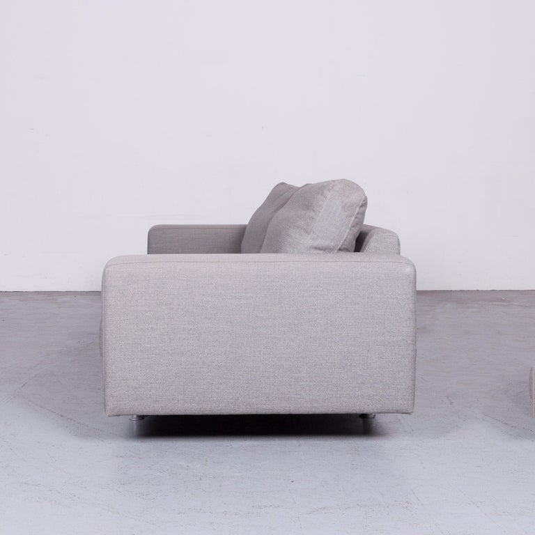 Pro Seda Designer Fabric Sofa Grey Sofa Couch Modern 6