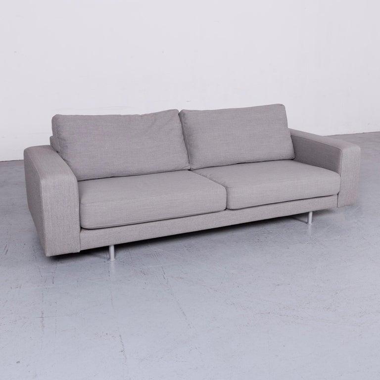 German Pro Seda Designer Fabric Sofa Grey Sofa Couch Modern