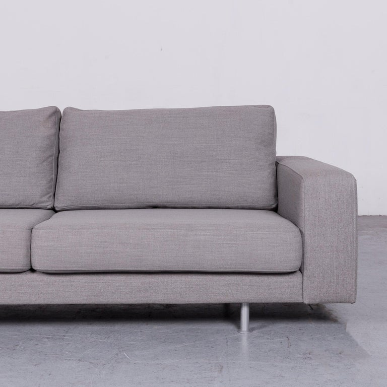 Contemporary Pro Seda Designer Fabric Sofa Grey Sofa Couch Modern