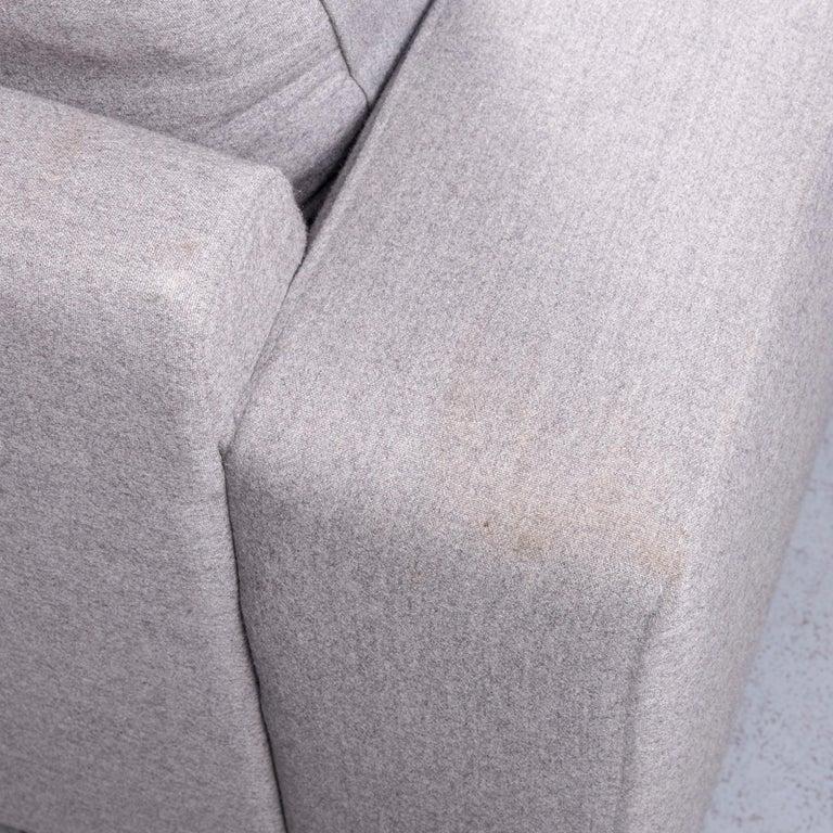 Pro Seda Designer Fabric Sofa Grey Sofa Couch Modern 3