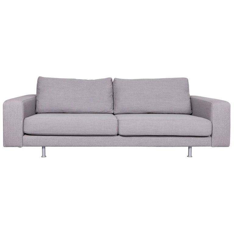 Pro Seda Designer Fabric Sofa Grey Sofa Couch Modern