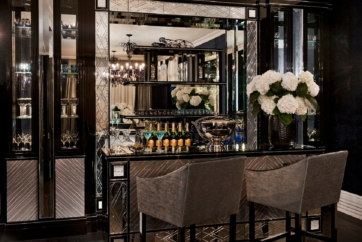 Deco Bar and Game Room in London, GB by Argent Design