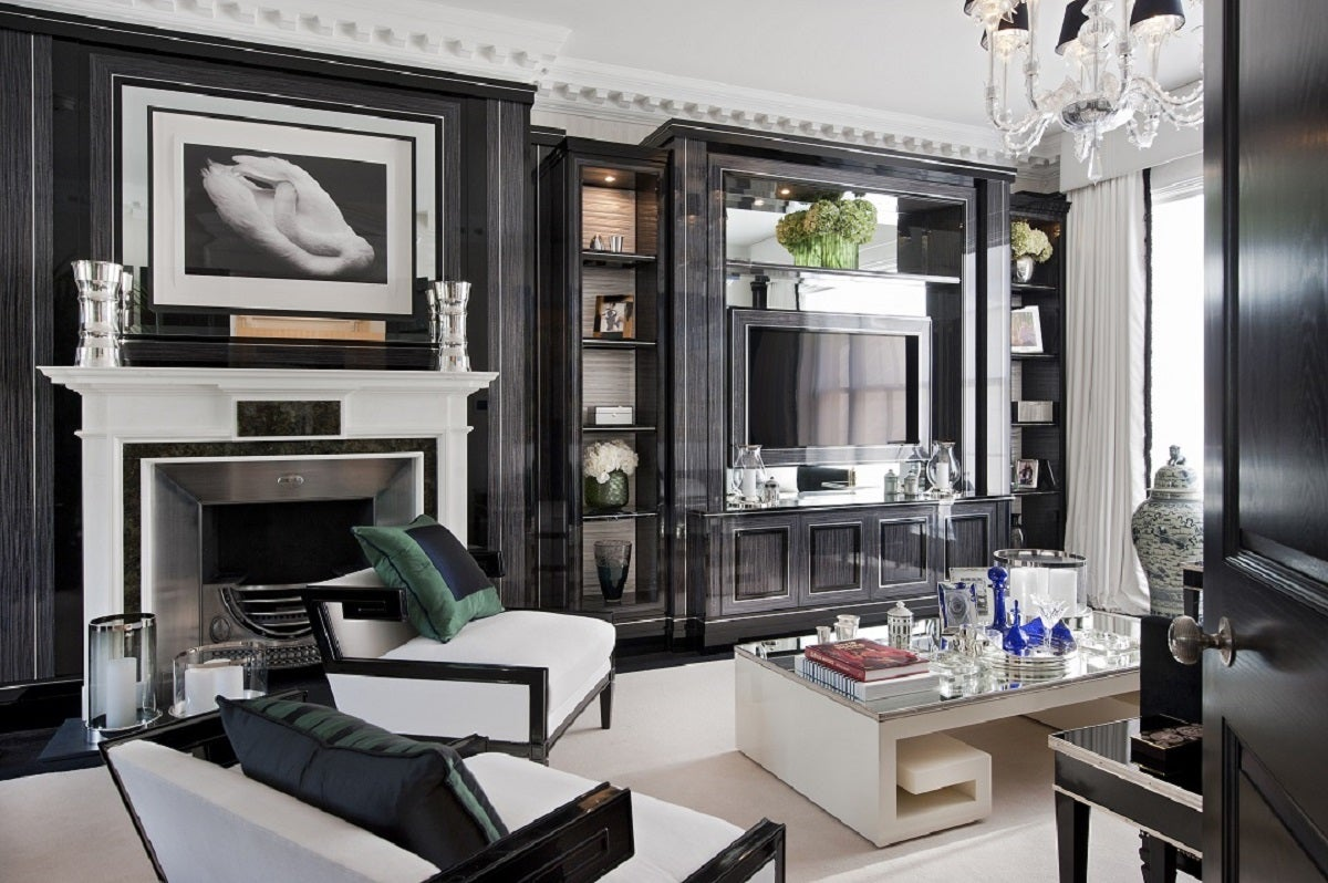 Art deco office and study in london gb by argent design - Modern deco deco ...