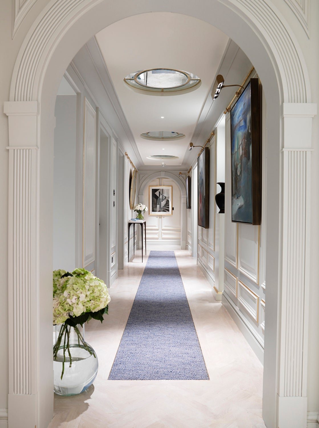 apartment corridors ideas - 736×987