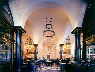 Art Deco Restaurant Open Plan. The Wolseley by David Collins Studio.
