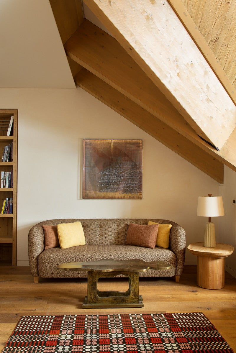 Arts and crafts bedroom in andermatt switzerland by for Arts and crafts bedroom