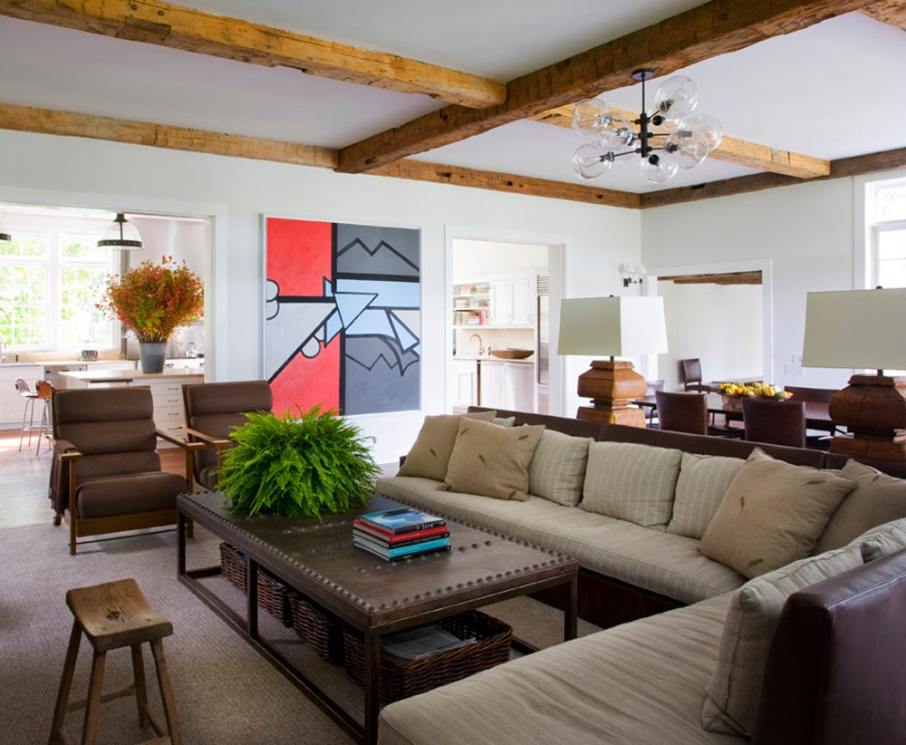 Arts And Crafts Style Living Room: Family Room By Shawn Henderson Interior Design On 1stdibs