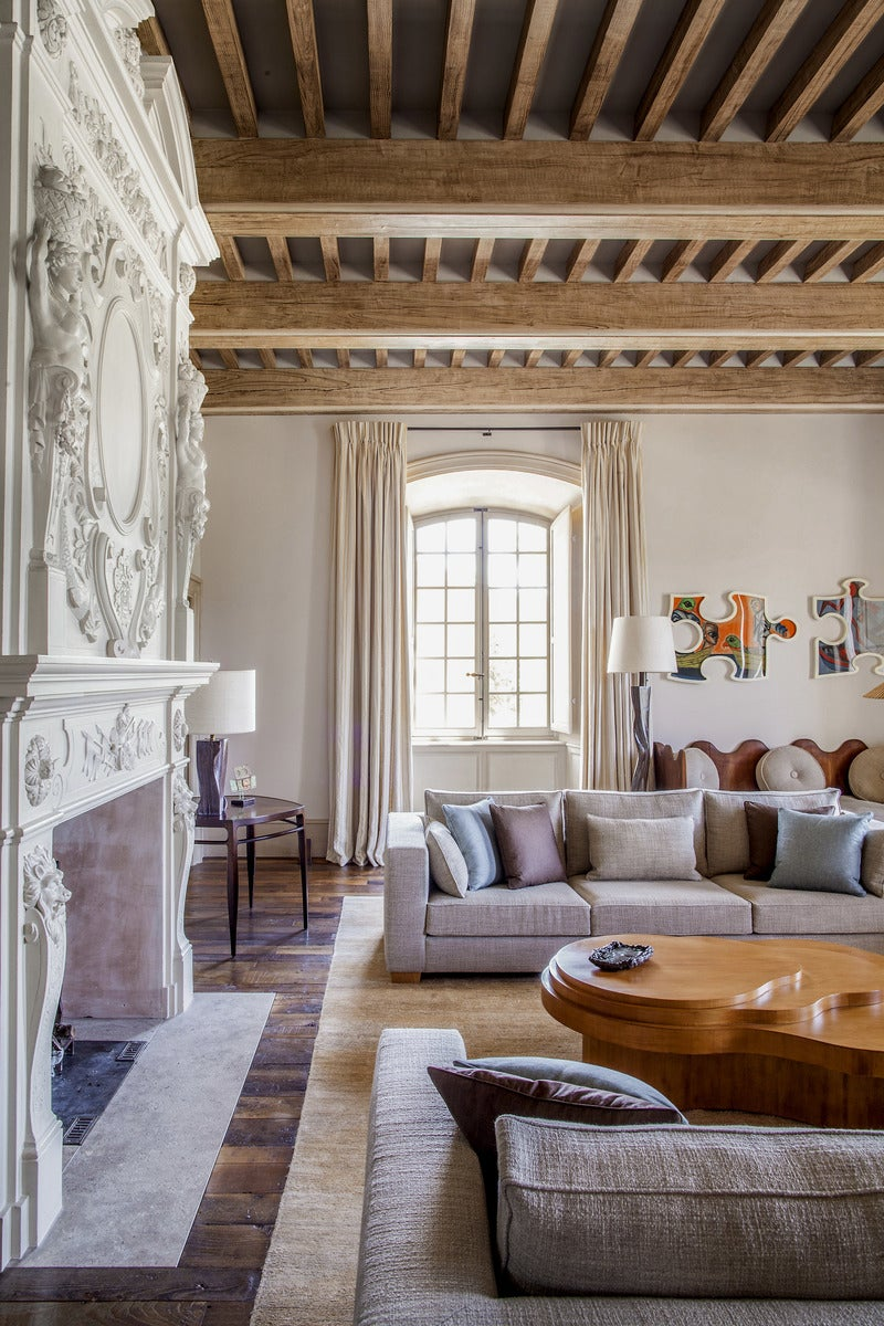 Arts And Crafts Living Room In Fr By Pierre Yovanovitch