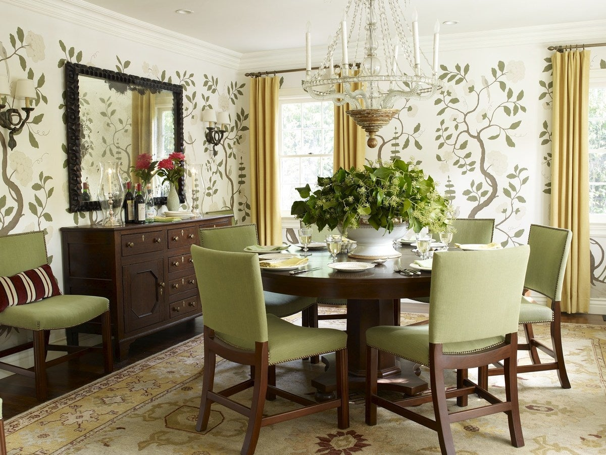 Beach style dining room in brentwood ca by peter dunham for Furniture 94513