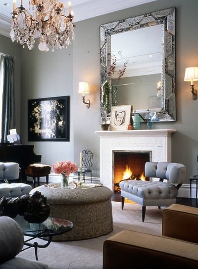 the living room stanford white townhouse by fox nahem associates 10009