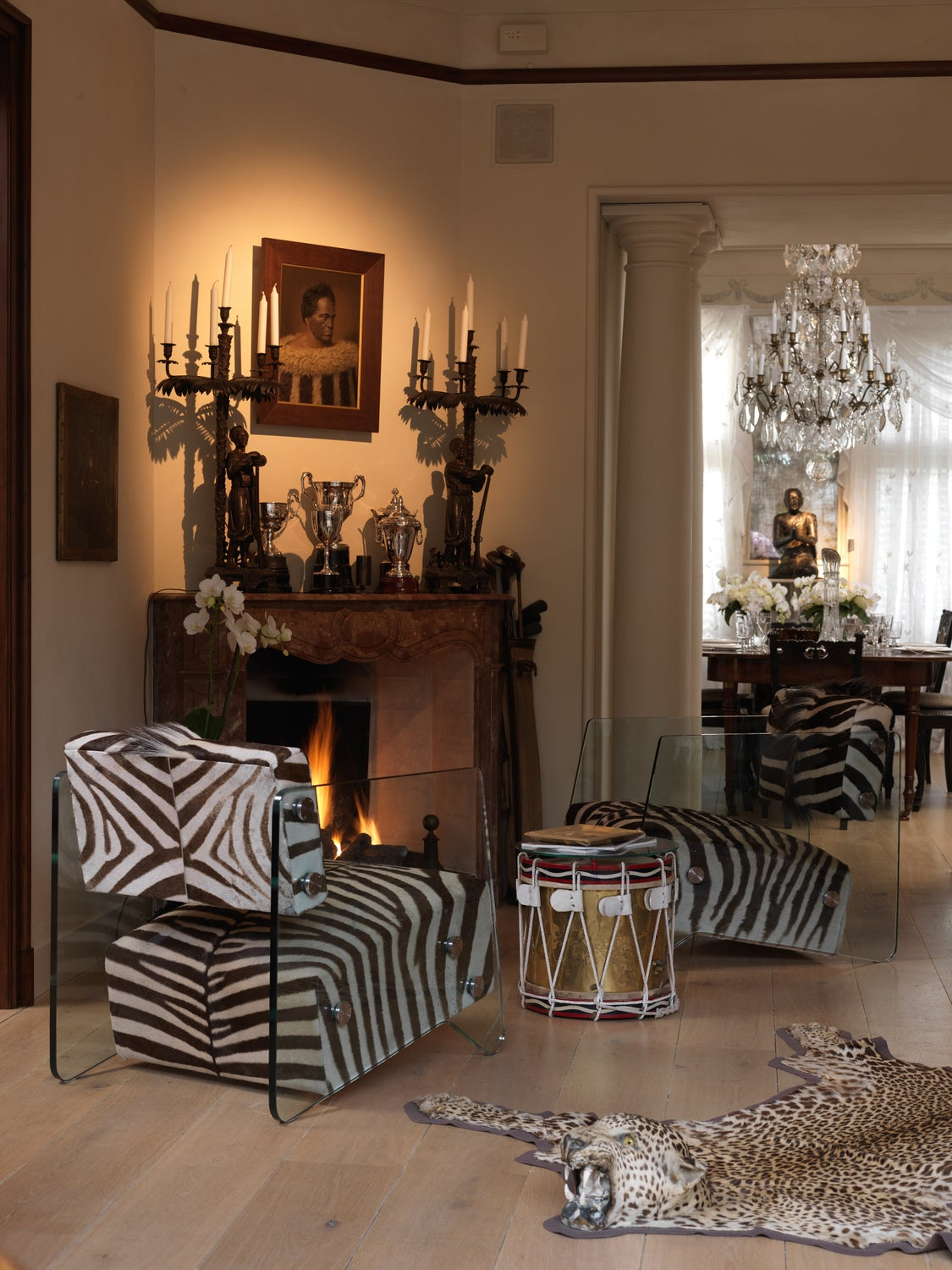 Living Room by Riviere Interiors on 1stdibs