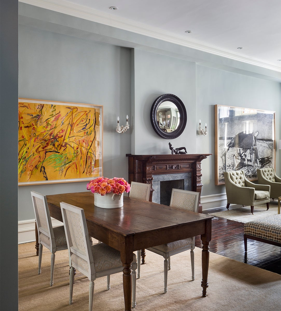 Eclectic Dining Room In New York NY By Sheila Bridges Design Inc